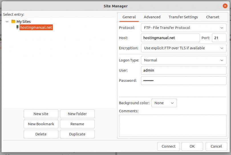 FTP Setup